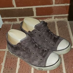 UGG LEATHER SNEAKERS